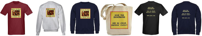 Explore the Magic of Radio Merchandise - shirts and bags